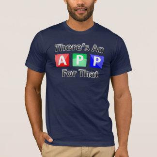 Es gibt eine APP für die T-Shirt