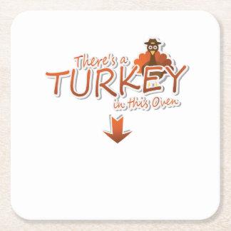 Es gibt eine die Türkei inthis Rechteckiger Pappuntersetzer
