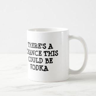 Es gibt eine Möglichkeit, die dieser Wodka sein Kaffeetasse