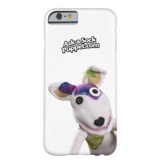 Es gibt eine Socken-Marionette an Ihrem Telefon! Barely There iPhone 6 Hülle