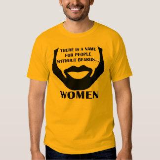 Es gibt einen Namen für Leute ohne Bärte… Frauen Shirt