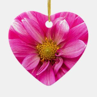 Es gibt Frieden Keramik Herz-Ornament