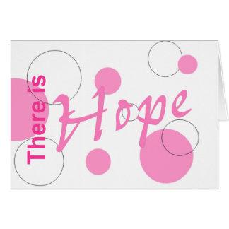 Es gibt Hope~notecard Karte