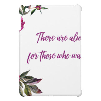 Es gibt immer Blumen iPad Mini Cover