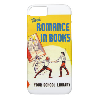 Es gibt in Buch-Vintagem Anzeige iPhone 7 Fall iPhone 8/7 Hülle