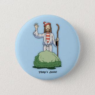 Es gibt Jesus! Runder Button 5,1 Cm
