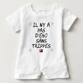 Es gibt kein EGO OHNE TRIPPES - Wortspiele Baby Strampler