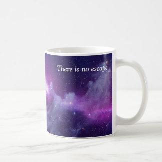 Es gibt kein Entweichen Kaffeetasse