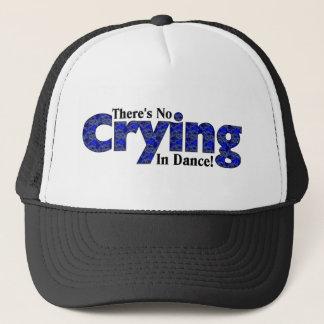 Es gibt kein Schreien im Tanz Truckerkappe