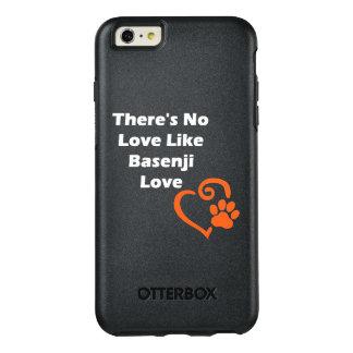 Es gibt keine Liebe wie Basenji Liebe OtterBox iPhone 6/6s Plus Hülle