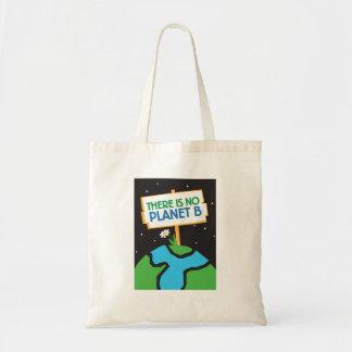 Es gibt keine Taschentasche des Planeten B Tragetasche