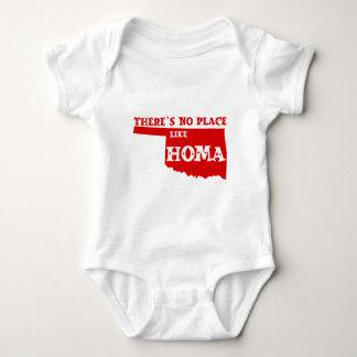Es gibt keinen Platz wie Homa Oklahoma Baby Strampler