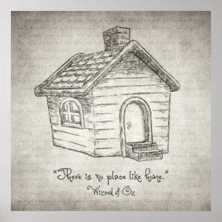Es gibt keinen Platz wie Zuhause Poster