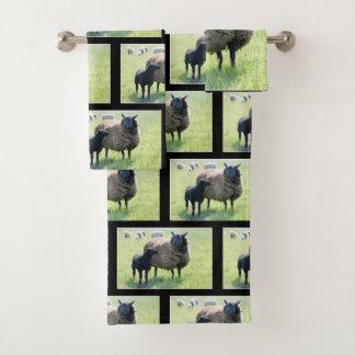 Es gibt mindestens eine schwarzen Schafe in jeder Badhandtuch Set