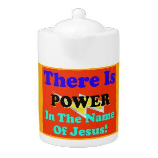 Es gibt Power im Namen Jesuss!