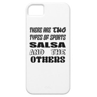 Es gibt zwei Arten Sport-Salsa und -andere Hülle Fürs iPhone 5