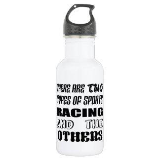 Es gibt zwei Arten Sportlaufen und -andere Trinkflasche