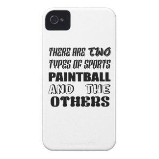 Es gibt zwei Arten SportPaintball und -andere iPhone 4 Hülle
