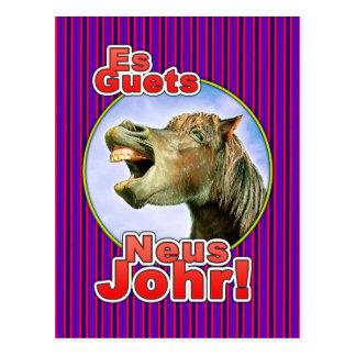 Es Guets Neus Johr! Postkarte