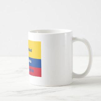 Es hat Kolumbien nicht Kolumbien buchstabiert Kaffeetasse
