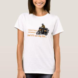 es ist auf meiner Liste… T-Shirt