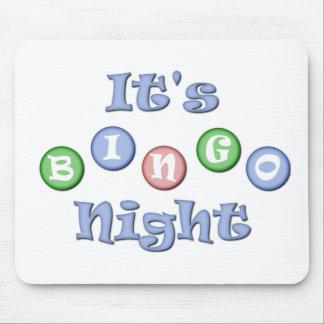 Es ist Bingo-Nacht Mousepad