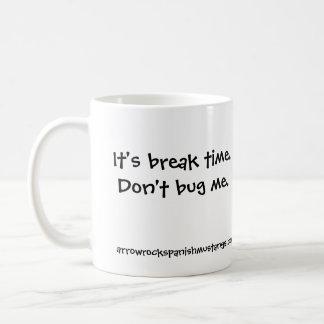 Es ist Bruchzeit Kaffeetasse