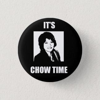 Es ist Chow-Chow Zeit - kleiner Knopf Runder Button 3,2 Cm