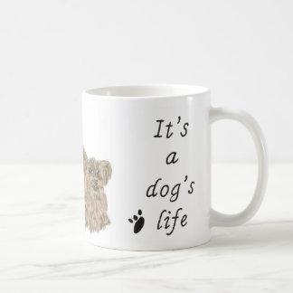 Es ist das Leben-Yorkshire-Terrier Kaffeetasse