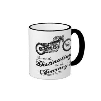 Es ist die Reise Kaffee Tasse