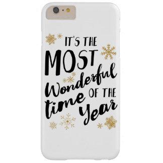 Es ist die wunderbarste Jahreszeit - rufen Sie Barely There iPhone 6 Plus Hülle