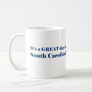 Es ist ein GROSSER Tag in South Carolina Kaffeetasse