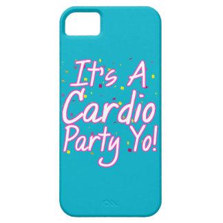 Es ist ein Herz Party Yo- Rosa iPhone 5 Case