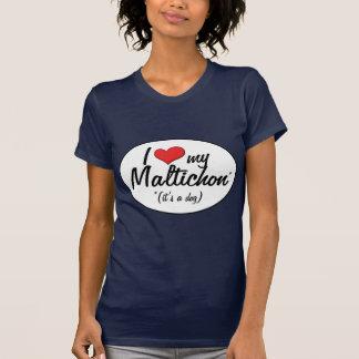 Es ist ein Hund! I Liebe mein Maltichon T-Shirt