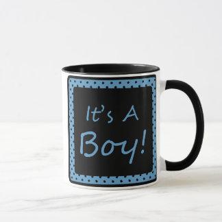 Es ist ein Junge! Tasse
