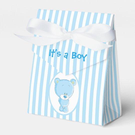 Es ist ein Jungen-Bärn-Zelt-Bevorzugungs-Kasten Geschenkschachtel