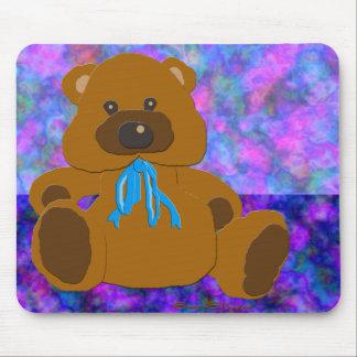 """""""Es ist ein Jungen-"""" Teddybär-Sammlung Mousepad"""