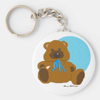 """""""Es ist ein Jungen-"""" Teddybär-Sammlung Schlüsselanhänger"""