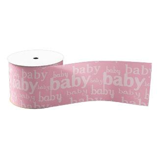 Es ist ein Mädchen-Rosa-Baby-Duschen-Party Ripsband