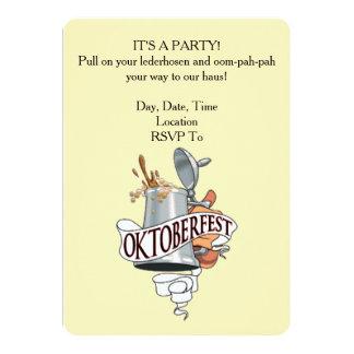 Es ist ein Party! Oktoberfest Party Einladungen
