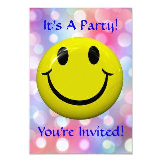 Es ist ein Party! Spaß, bunte Einladung