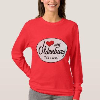 Es ist ein Pferd! I Liebe mein Oldenburg T-Shirt