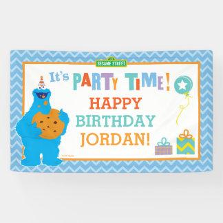 Es ist ein Plätzchen-Party Banner