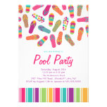 Es ist ein Sommer umdreht Reinfall-Pool-Party