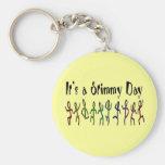 Es ist ein Stimmy Tag Keychain Schlüsselbänder