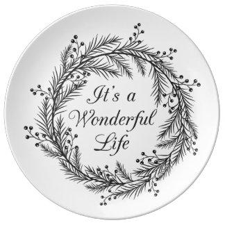 Es ist ein wunderbares Leben - Teller