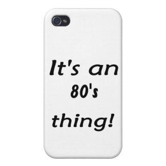 Es ist eine Achtzigerjahre Sache! Achtzigerjahre a iPhone 4/4S Cover