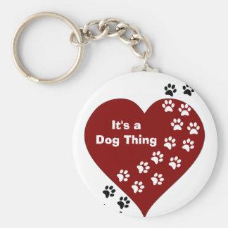 Es ist eine Hundesache-Herz-und Schlüsselanhänger