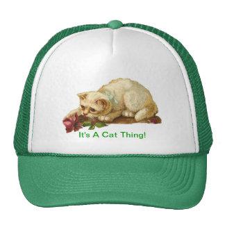 Es ist eine Katzen-Sache Tuckercaps