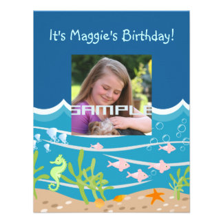 Es ist eine Meerjungfrau-Party-Zeiteinladung Ankündigungskarten